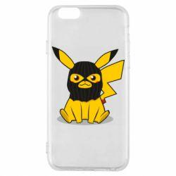 Чохол для iPhone 6/6S Pikachu in balaclava