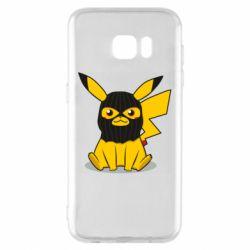 Чохол для Samsung S7 EDGE Pikachu in balaclava