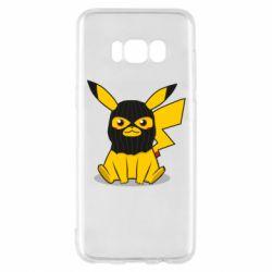 Чехол для Samsung S8 Pikachu in balaclava