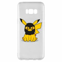 Чохол для Samsung S8+ Pikachu in balaclava