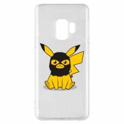 Чохол для Samsung S9 Pikachu in balaclava
