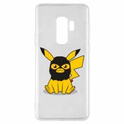 Чохол для Samsung S9+ Pikachu in balaclava