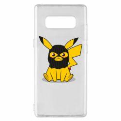 Чохол для Samsung Note 8 Pikachu in balaclava