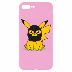 Чохол для iPhone 8 Plus Pikachu in balaclava