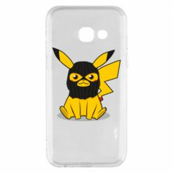 Чохол для Samsung A3 2017 Pikachu in balaclava