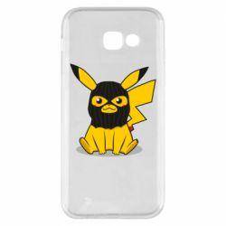 Чохол для Samsung A5 2017 Pikachu in balaclava