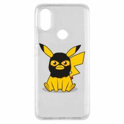 Чехол для Xiaomi Mi A2 Pikachu in balaclava