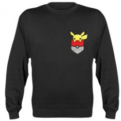 Реглан (свитшот) Pikachu in pocket