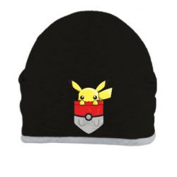 Шапка Pikachu in pocket