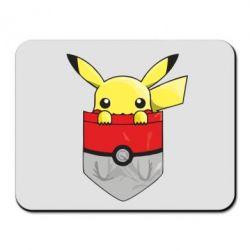 Коврик для мыши Pikachu in pocket - FatLine