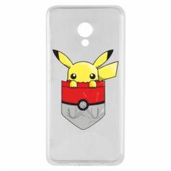 Купить Pokemon GO, Чехол для Meizu M5 Pikachu in pocket, FatLine