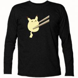 Футболка з довгим рукавом Pikachu in the sticks