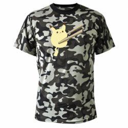 Камуфляжна футболка Pikachu in the sticks