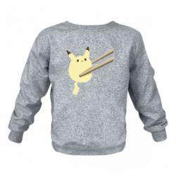 Дитячий реглан (світшот) Pikachu in the sticks