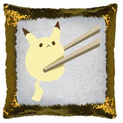 Подушка-хамелеон Pikachu in the sticks