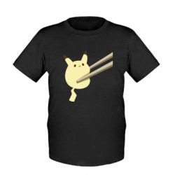 Дитяча футболка Pikachu in the sticks