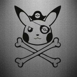 Наклейка Pikachu Pirate - FatLine