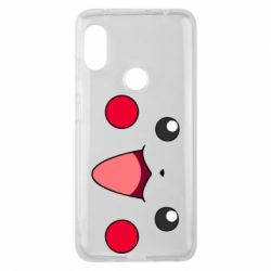 Чехол для Xiaomi Redmi Note 6 Pro Pikachu Smile