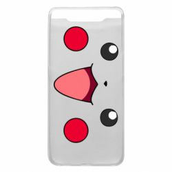 Чехол для Samsung A80 Pikachu Smile