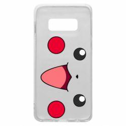 Чехол для Samsung S10e Pikachu Smile
