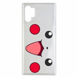 Чехол для Samsung Note 10 Plus Pikachu Smile