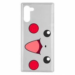 Чехол для Samsung Note 10 Pikachu Smile