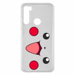 Чехол для Xiaomi Redmi Note 8 Pikachu Smile