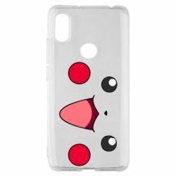 Чехол для Xiaomi Redmi S2 Pikachu Smile