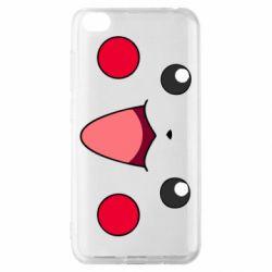 Чехол для Xiaomi Redmi Go Pikachu Smile