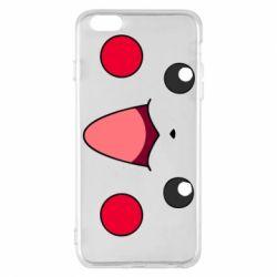 Чехол для iPhone 6 Plus/6S Plus Pikachu Smile