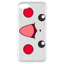 Чехол для iPhone 8 Pikachu Smile