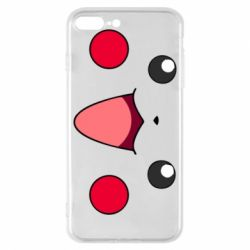 Чехол для iPhone 8 Plus Pikachu Smile