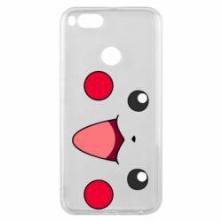 Чехол для Xiaomi Mi A1 Pikachu Smile