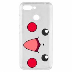 Чехол для Xiaomi Redmi 6 Pikachu Smile