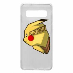 Чохол для Samsung S10 Pikachu