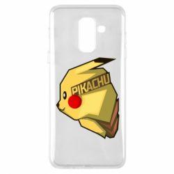 Чохол для Samsung A6+ 2018 Pikachu