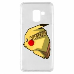 Чохол для Samsung A8 2018 Pikachu