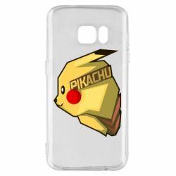 Чохол для Samsung S7 Pikachu