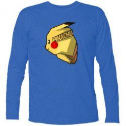 Футболка с длинным рукавом Pikachu - FatLine
