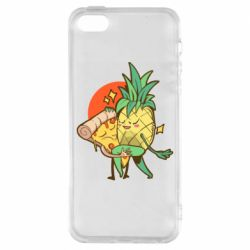 Чехол для iPhone5/5S/SE Pineapple and Pizza