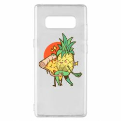 Чехол для Samsung Note 8 Pineapple and Pizza