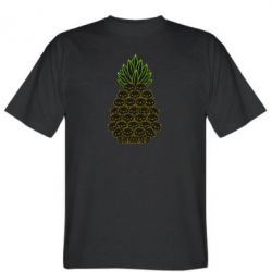 Чоловіча футболка Pineapple cat