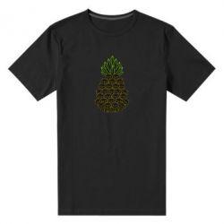 Чоловіча стрейчева футболка Pineapple cat