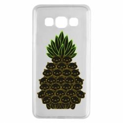 Чехол для Samsung A3 2015 Pineapple cat