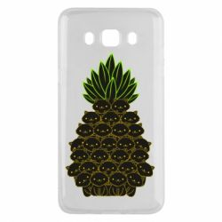 Чехол для Samsung J5 2016 Pineapple cat