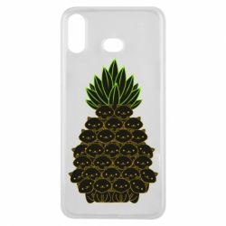 Чехол для Samsung A6s Pineapple cat