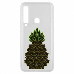 Чехол для Samsung A9 2018 Pineapple cat