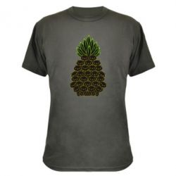 Камуфляжна футболка Pineapple cat