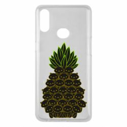 Чехол для Samsung A10s Pineapple cat