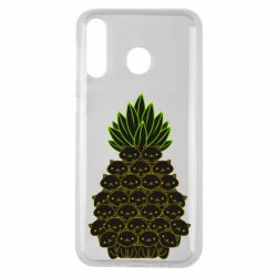 Чехол для Samsung M30 Pineapple cat